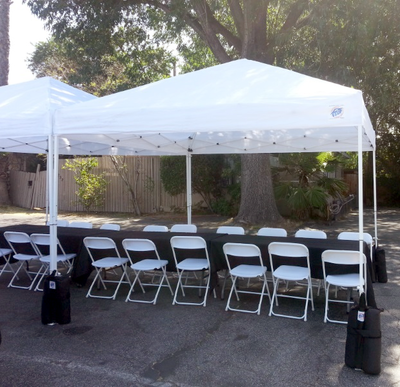 10 X 10 Pop Up Canopy Tent Los Angeles Ca Big Blue