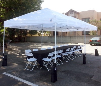 All Party Canopy ... & 10u0027 x 10u0027 Pop Up Canopy Tent | Los Angeles CA - BIG BLUE SKY ...