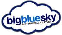 Big Blue Sky Party Rental Category Home