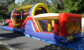 40 ft Inflatable Obstacle Course party rental in Los Angeles, Torrance, Redondo and Palos Verdes.