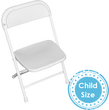 Kids White Party Chairs for parties for rent in Los Angeles, Malibu, Calabasas, Santa Monica, Torrance and Redondo Beach.