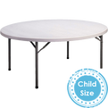 Kids round party tables for rent in El Segundo for any children's event.