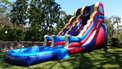 Inflatable water slide and pool party rental in Los Angeles, Torrance, Redondo and Palos Verdes.