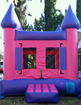 Pink & Purple Inflatable Bouncy Castle Bouncer Rental in Los Angeles