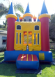 Our multicolored inflatable bouncy castle in red, yellow and blue is available for rent in Los Angeles.