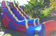 Inflatable 16 ft High Dry Slide party rental in Los Angeles, Torrance, Redondo and Palos Verdes.