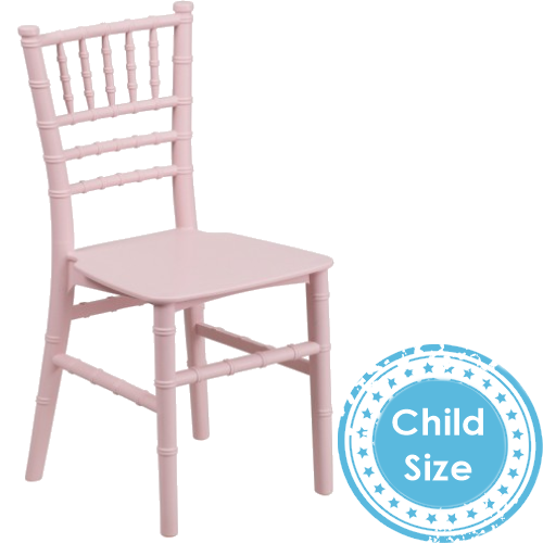 Pink Chiavari Chairs for Kids for rent and delivery in Los Angeles & El Segundo