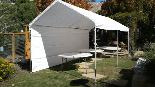 10 x 20 Party Canopy Rental with Sidewall for rent in Los Angeles