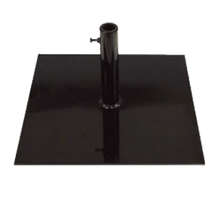 a 50 lb black steel umbrella stand base for rent in los angeles - Patio Umbrella Base