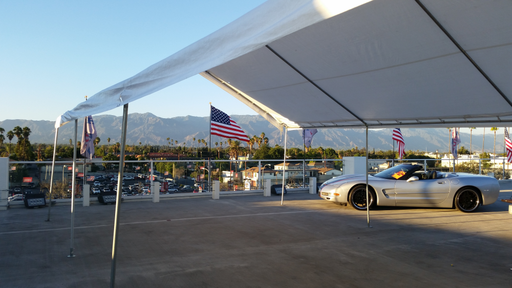 20' x 40' Party Canopy for rent in Los Angeles, CA - Big Blue Sky Party Rentals - www.bigblueskyparty.com