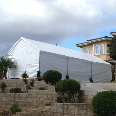 A 20' x 30' Party Canopy Rental available for set up in Los Angeles, CA.