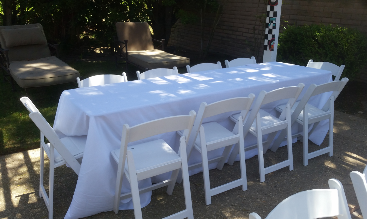 Table & Linen Party & Event Rentals Los Angeles - Big Blue Sky Party Rentals - www.bigblueskyparty.com
