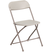 Beige Folding Chair Rentals in Los Angeles