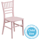Kids Pink Chiavari Chair Rentals in Los Angeles.