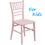 Pink Chiavari Kids Chair Rentals in Los Angeles