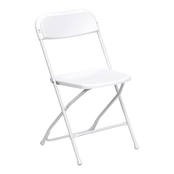 White Folding Chair Rentals in Los Angeles