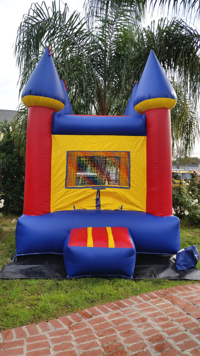 Inflatable Mini Bounce House Rental - Exterior View of Jumper Entrance