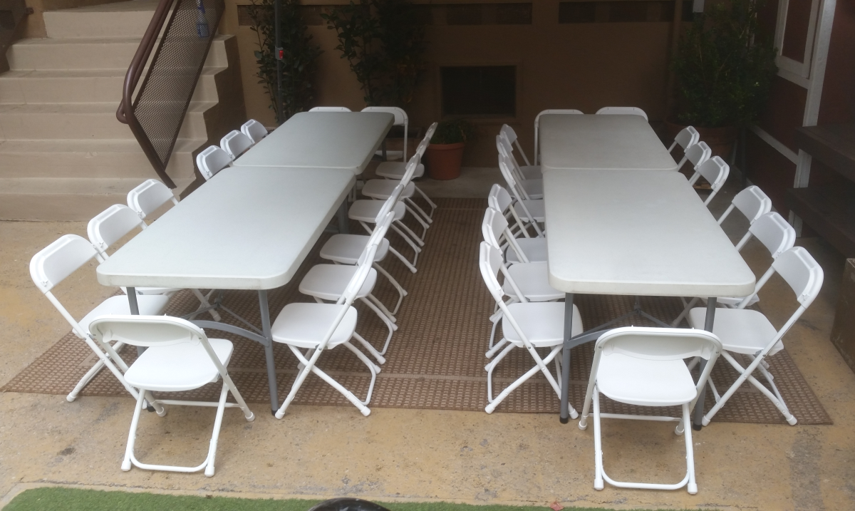 Kids Tables & Chairs for rent in Los Angeles, CA - Big Blue Sky Party Rentals - www.bigblueskyparty.com