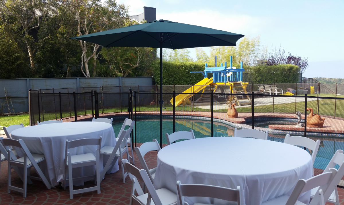Patio Umbrella Rentals - Big Blue Sky Party Rentals - www.bigblueskyparty.com