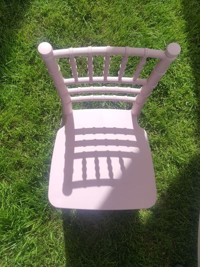 Kids Pink Chiavari Chair Rental