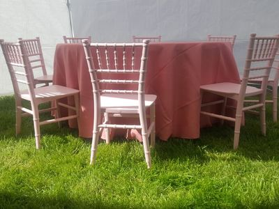 Kids Pink Chair Rentals