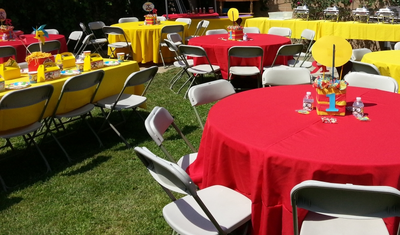 Delicieux Tablecloths, Linens U0026 Chair Covers For Rent   BIG BLUE SKY Party Rentals |  Event Rentals In Los Angeles, CA
